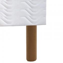 Pied literie bois massif 20 cm La Boutique Des Proprios