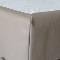 Tour de lit intégral décoratif. Housse enveloppante pour sommier (bultex ...).