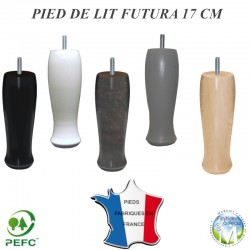 pied literie sommier futura cylindre