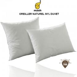 OREILLER NATUREL 90 % DUVET