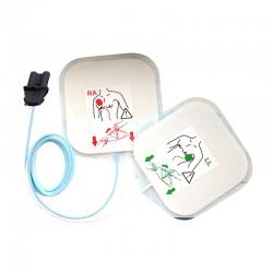 Paire d'électrodes pour adulte SAVER ONE